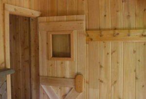 двери для парилки из осины