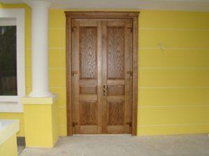 двери из евробруса