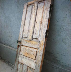 Дверное полотно до реставрации