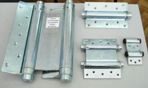 Дверные петли для маятниковых дверей