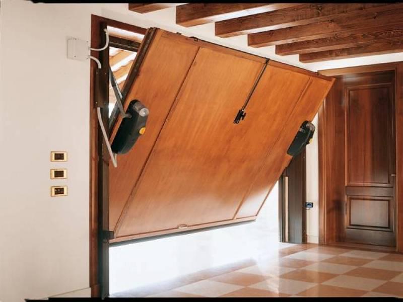 подъемно-поворотные двери для гаража
