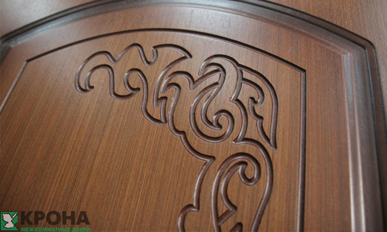 элемент полотна владимирских дверей крона