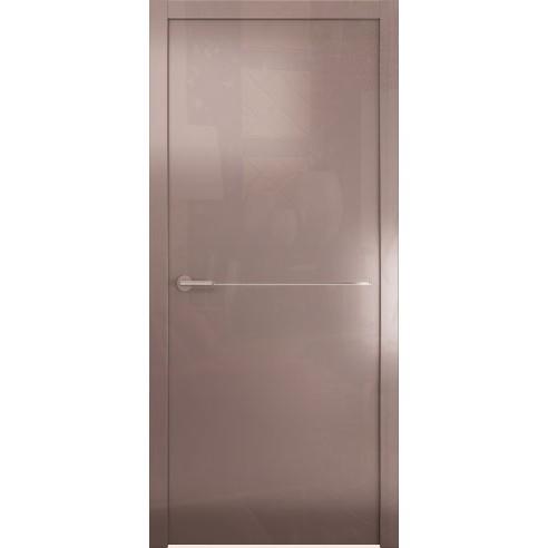 Межкомнатная глянцевая дверь «Avorio-1» (глухая)