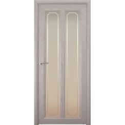 Межкомнатная шпонированная дверь «Optima-5 Рамка» (со стеклом)