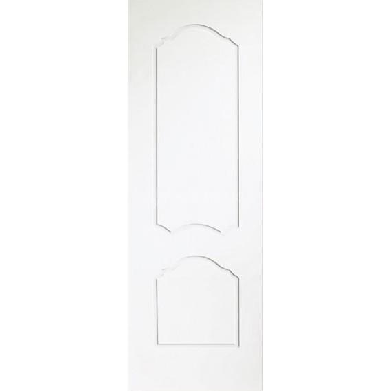 Строительная крашенная дверь Каролина ПГ (глухая)