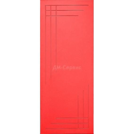Крашенная дверь премиум класса «Техно» (глухая)