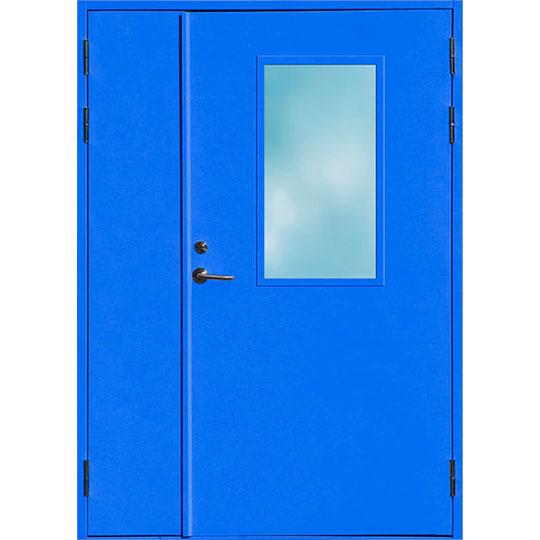 Металлическая противопожарная дверь «ПДО-2»