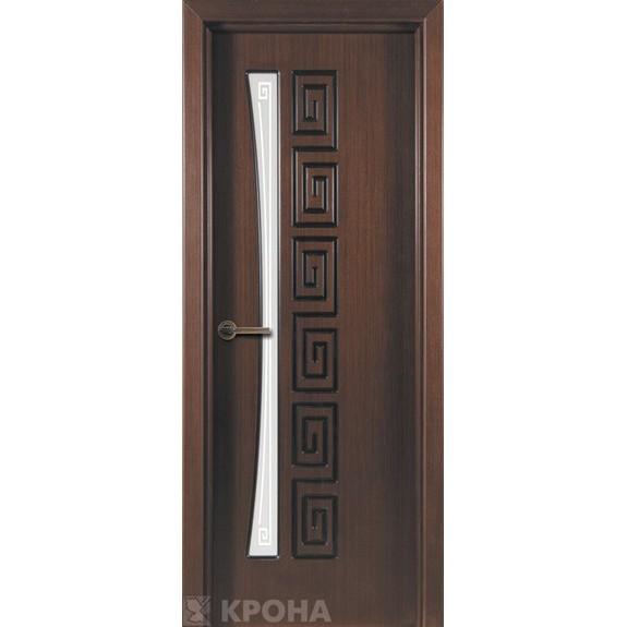 Межкомнатная дверь с натуральным шпоном «Греция ДО» (со стеклом)
