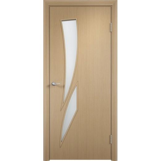 Межкомнатная ламинированная дверь «C-2 ДО» (со стеклом)