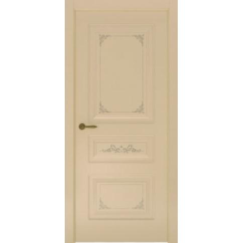 Межкомнатная дверь с эмалью «Flora 3» (глухая)