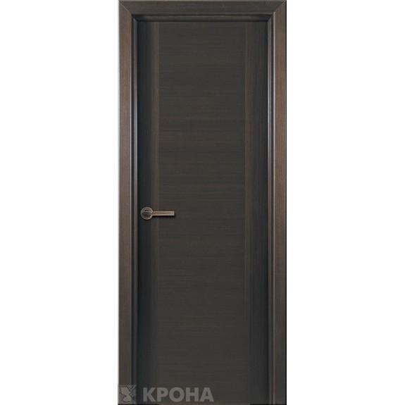 Межкомнатная дверь с натуральным шпоном «Карат ДГ» (глухая)