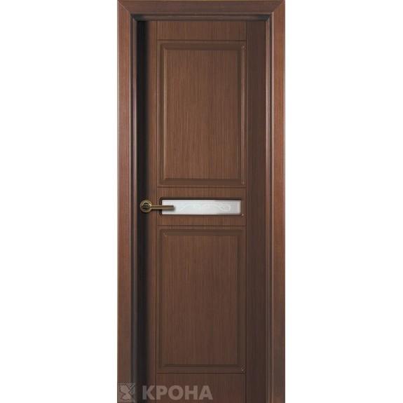 Межкомнатная дверь с натуральным шпоном «Рондо ДО» (со стеклом)