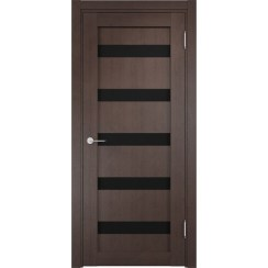 Межкомнатная дверь Casaporte «Верона 06 Темная» (со стеклом)