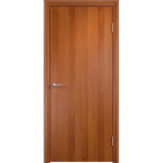 Строительная ламинированная дверь «ГЛП» (груша, глухая)
