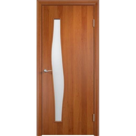 Межкомнатная ламинированная дверь «C-10 ДО» (со стеклом)
