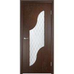 Межкомнатная дверь с пленкой ПВХ «Валенсия ДО» (со стеклом)