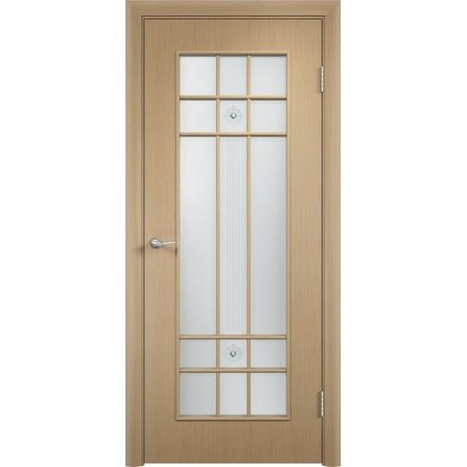Межкомнатная ламинированная дверь «C-15 Ф» (со стеклом)