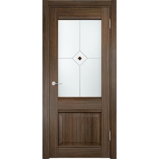 Межкомнатная дверь Casaporte «Милан 12» (со стеклом)