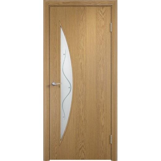 Межкомнатная ламинированная дверь «C-6 Ф» (со стеклом)