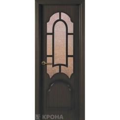 Межкомнатная дверь с натуральным шпоном «Соната ДО» (со стеклом)