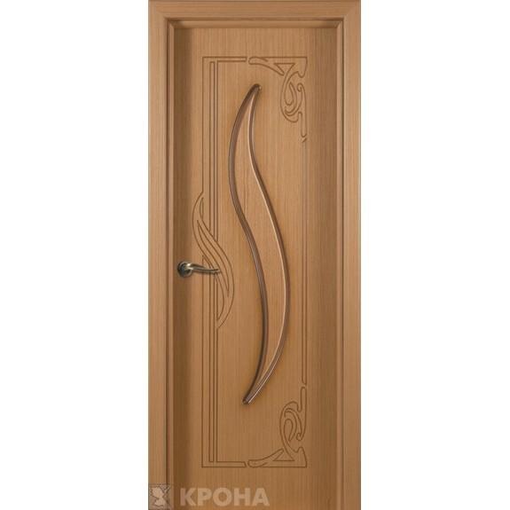 Межкомнатная дверь с натуральным шпоном «Лагуна ДГ» (глухая)