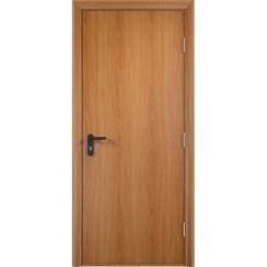 Строительная противопожарная дверь «ДПГ» (миланский орех, глухая)