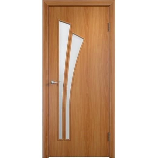 Межкомнатная ламинированная дверь «C-7 ДО» (со стеклом)