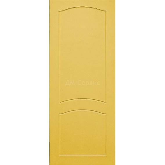 Крашенная дверь премиум класса «Классика» (глухая)