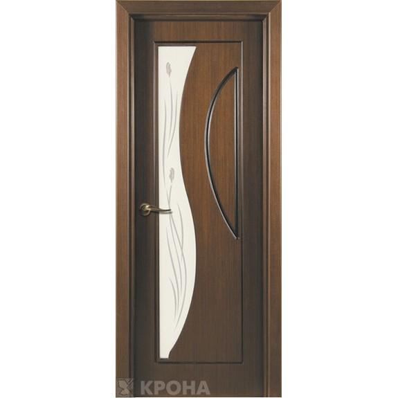 Межкомнатная дверь с натуральным шпоном «Стелла ДО» (со стеклом)