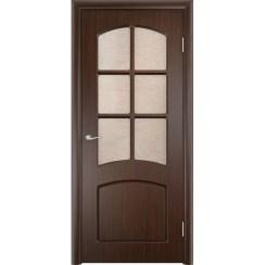 Межкомнатная дверь с пленкой ПВХ «Кэрол ДО» (со стеклом)