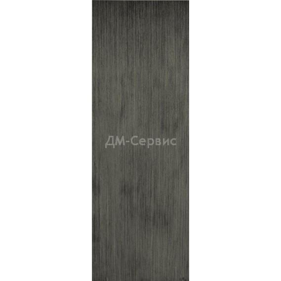 Строительная шпонированная дверь «ГШП» (серебристый дуб, глухая)