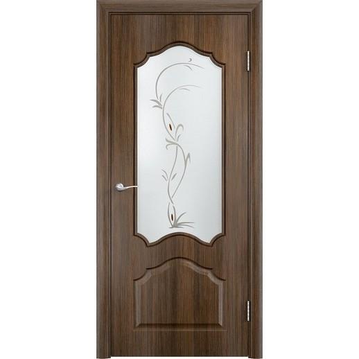 Межкомнатная дверь скин экошпон «Ирида ДО ХФ Светлая» (со стеклом)