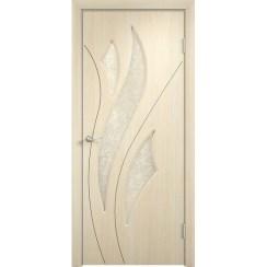 Межкомнатная дверь с пленкой ПВХ «Латина ДО» (со стеклом)