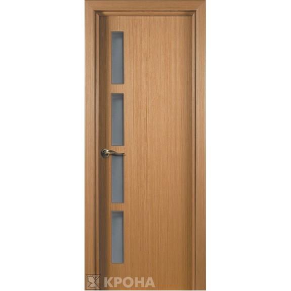 Межкомнатная дверь с натуральным шпоном «Гранд ДО» (со стеклом)