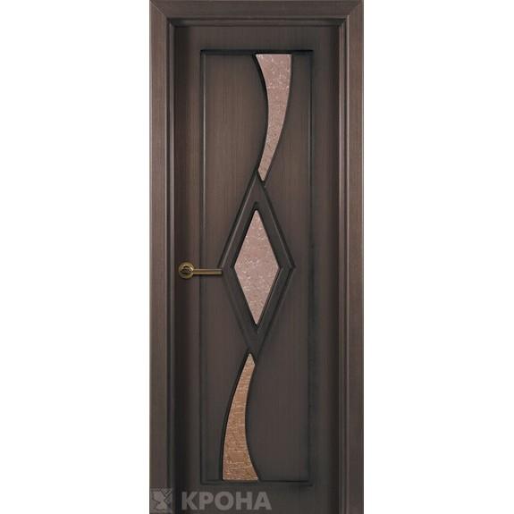 Межкомнатная дверь с натуральным шпоном «Милана ДО» (со стеклом)