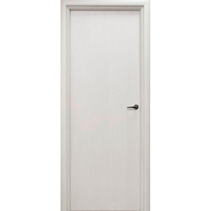 Межкомнатная дверь из вспененного ПВХ (глухая, белая)