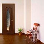 Шпонированная дверь Орбита
