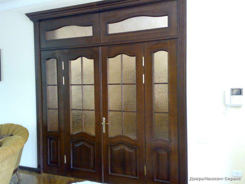 Дверь из четырех створок