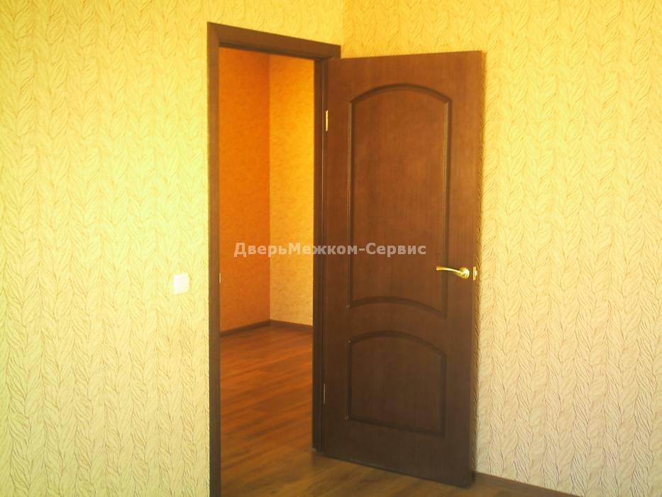 Глухая шпонированная дверь Наполеон