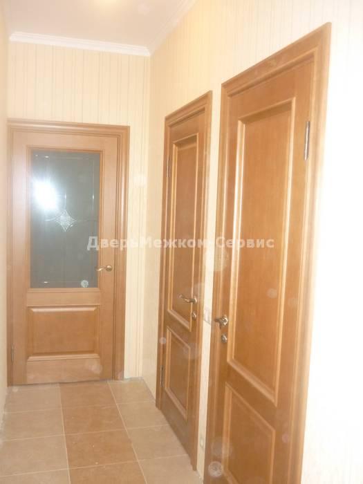 Межкомнатные двери с врезкой фурнитуры