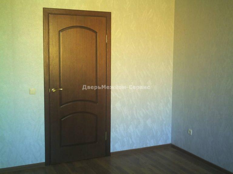 Шпонированные двери «Наполеон» в квартире