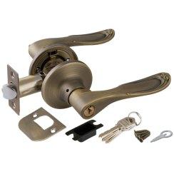 Дверная ручка-защелка «6030 E» (ключ/фиксатор)