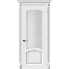 Дверь эмаль Ария, со стеклом
