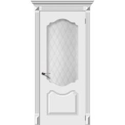Межкомнатная дверь эмаль «Фолк» (со стеклом)