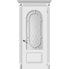 Межкомнатная дверь эмаль «Менуэт» (со стеклом)