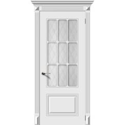 Межкомнатная дверь эмаль «Ноктюрн» (со стеклом)