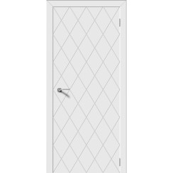 Межкомнатная дверь эмаль «Ромб» (глухая)