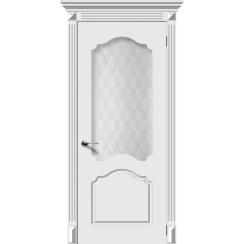 Межкомнатная дверь эмаль «Танго» (со стеклом)