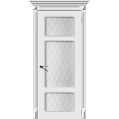 Межкомнатная дверь эмаль «Увертюра» (со стеклом)