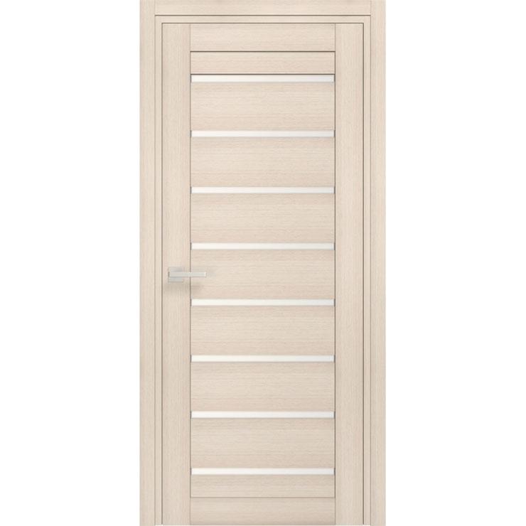 Межкомнатная царговая дверь из ДПК «Trio» (со стеклом)